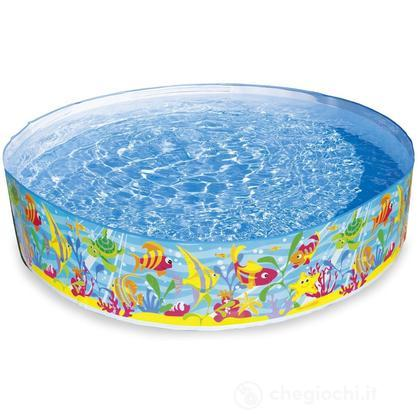 Piscina rigida baby oceano cm 183x 38 56452 piscine for Piscina rigida rectangular