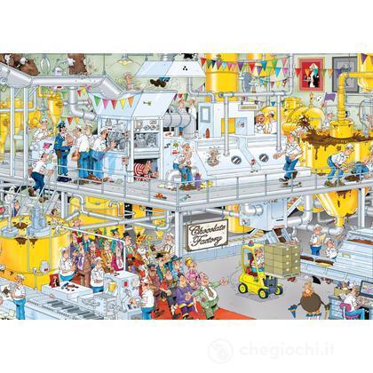 La fabbrica di cioccolato - 1000 pezzi