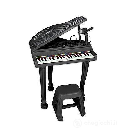 Pianoforte a coda elettronico con microfono