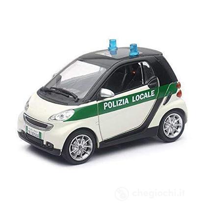 Smart Fortwo Polizia locale 71453 1:24
