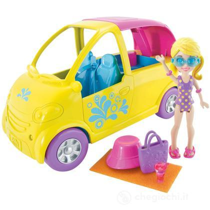 Polly Pocket - Cabrio piscina (W6222)