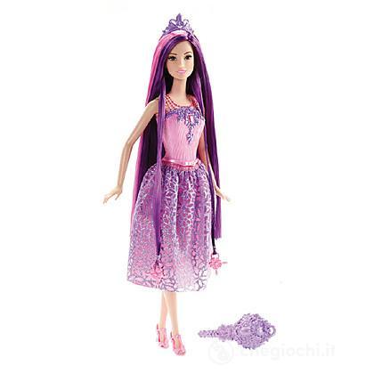 Barbie Principessa Chioma da Favola Viola