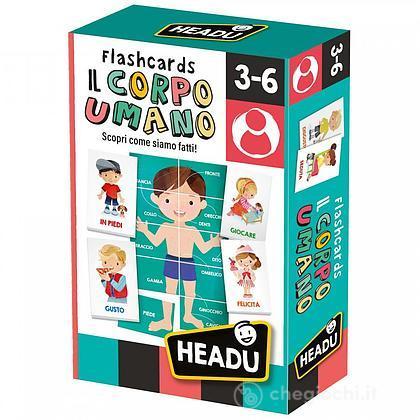 Flashcards Il Corpo Umano (IT24551)