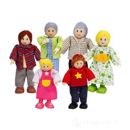 Famiglia felice caucasica (E3500)