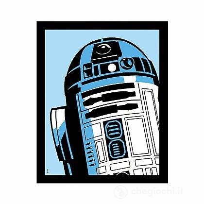 Quadro Luminoso Star Wars - R2-D2 Small (GAF1010)