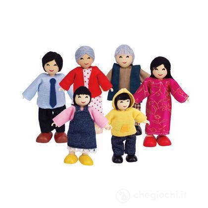 Famiglia felice asiatica (E3502)