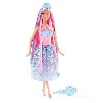 Barbie Principessa Chioma da Favola Blu