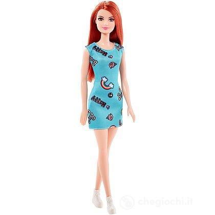 Barbie - Trendy con Abito turchese (FJF18)