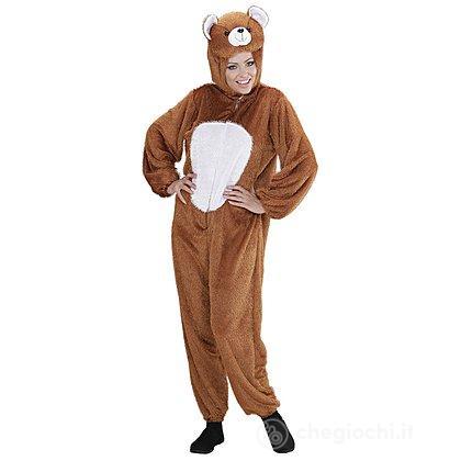 tessuti pregiati miglior posto per ufficiale più votato Costume Adulto orso bruno peluche M