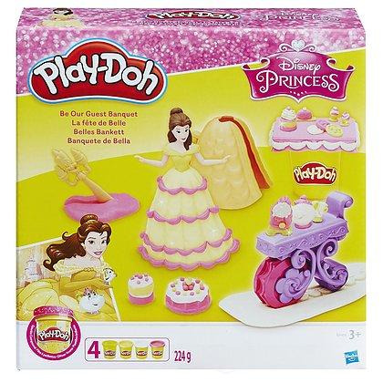 Play-Doh Disney Princess Belle Be our Guest