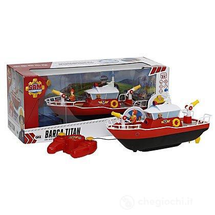 Barca Titan con Radiocomando Giochi Preziosi Sam Il Pompiere