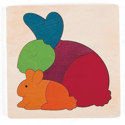 Coniglio arcobaleno (E6504)