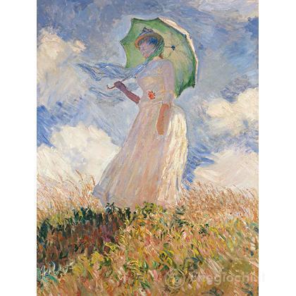 Monet: Donna col parasole