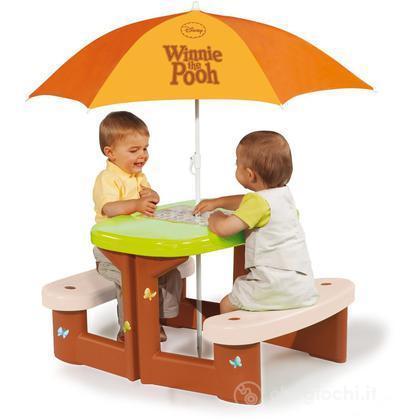 Tavolo da Pic Nic Winnie con ombrellone