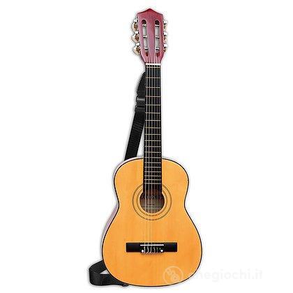 Chitarra in legno 6 corde in metallo