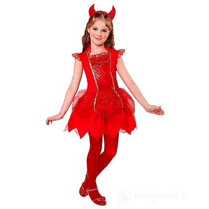 Costume Diavolessa 8-10 anni