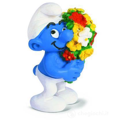 Puffo con fiori (20469)