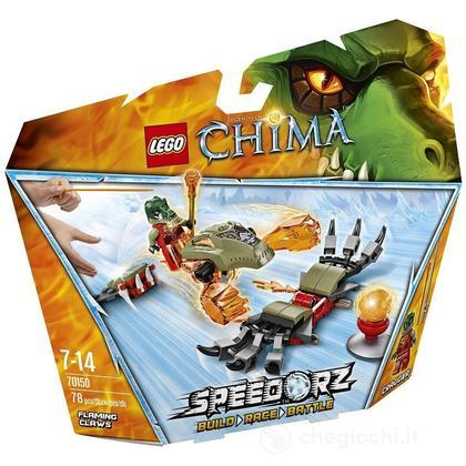 Artigli fiammeggianti - Lego Legends of Chima (70150)