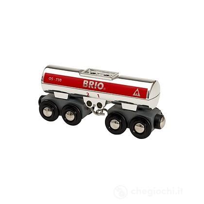 Brio Carro cisterna color argento (33472)