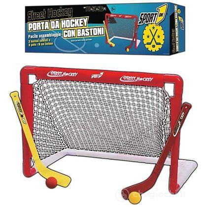 Street hockey - porta da hockey con bastoni (705100011)