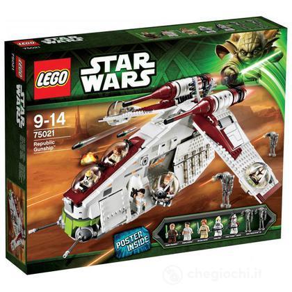 Republic Gunship - Lego Star Wars (75021)
