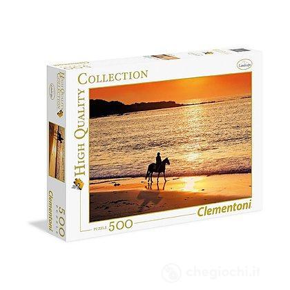 Passeggiata al tramonto 500 pezzi High Quality Collection (30475)