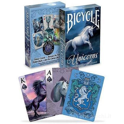 Carte Poker Bicycle Anne Stokes Unicorns