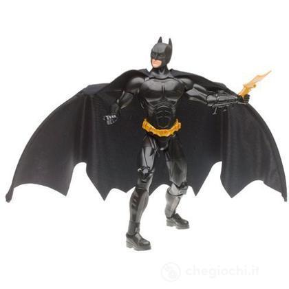 Batman Begins con mantello