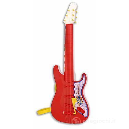 Chitarra rock con Hawaiana e corde di nylon. Plettro e tracolla in dotazione