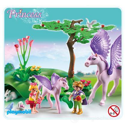 Principini Con Cuccioli Di Unicorno (5478)