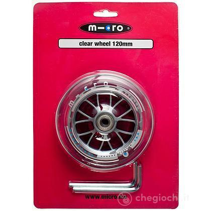 Ruote led mini Micro 120 mm due ruote (MP39458)