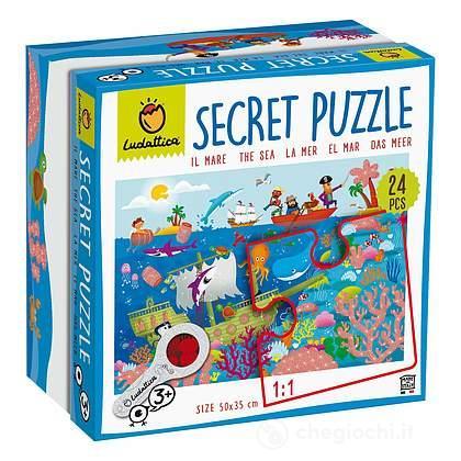 Il mare. Secret puzzle (7479)