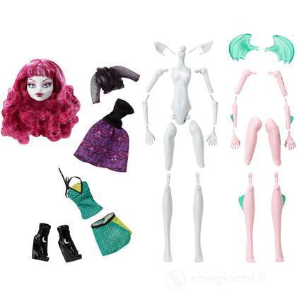 Crea la tua Monster High - Ragazza licantropo & Ragazza drago (Y6609)