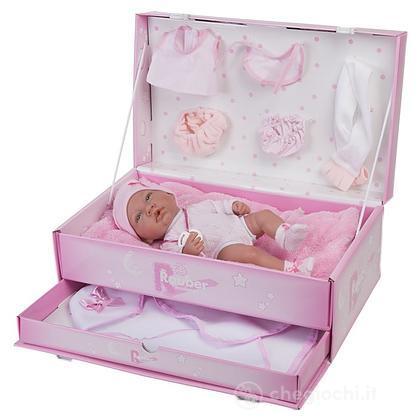 Bambola con baule e accessori 3480