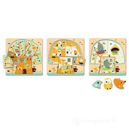 3 layers puzzle - Casa sull'albero