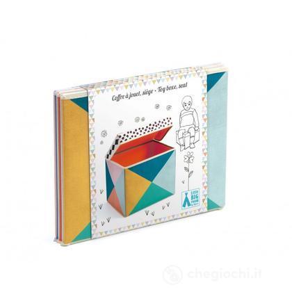 Scatola - pouf Porta giochi DD04481