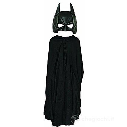 Maschera E Mantello Batman Taglia Unica