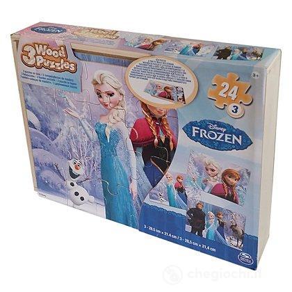 Puzzle Frozen in legno (6033124)