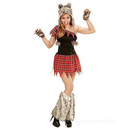 Costume Adulto Donna lupo mannaro M