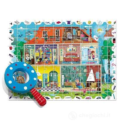 La mia casa. Baby detective puzzle (7482)