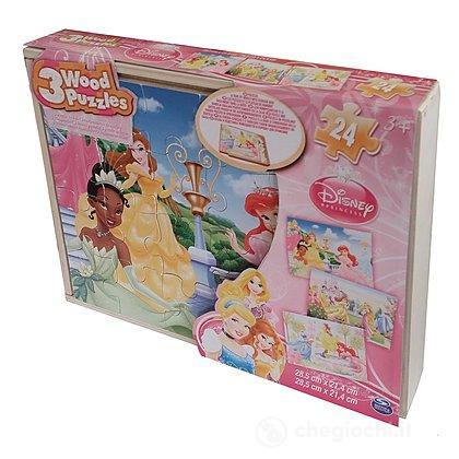Puzzle Disney Princess in legno (6033126)