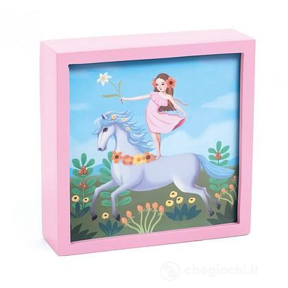 Unicorno incantato e fatina - Luce notturna (DD03484)