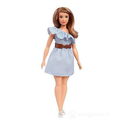 Barbie - Fashionistas - 76 Pinch Of Pinstripes Curvy (FJF41)