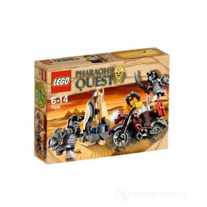 LEGO Pharaohs Quest - I guardiani dello scettro d'oro (7306)