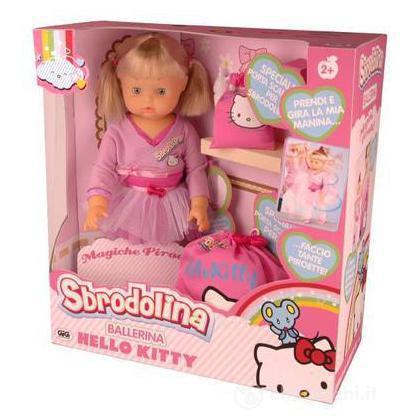 Sbrodolina ballerina Hello Kitty