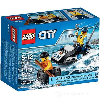 Fuga con gli pneumatici - Lego City Police (60126)