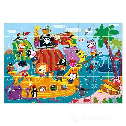 La nave dei pirati. Puzzle (7487)