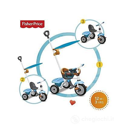 Triciclo Jolly Plus Azzurro Arancio