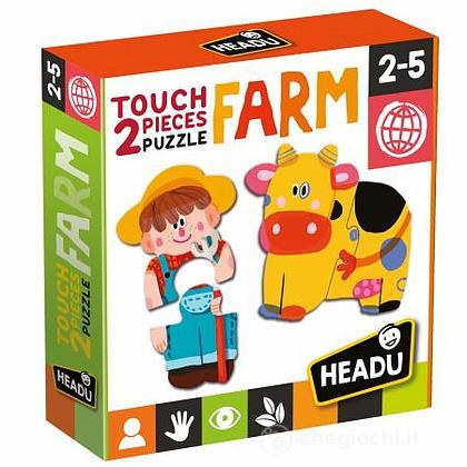 2 pieces Puzzle Touch Farm (MU24889)