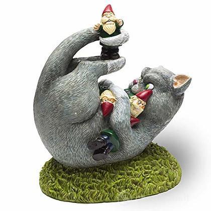 Gnome Cat Attack (Gnomo Da Giardino)
